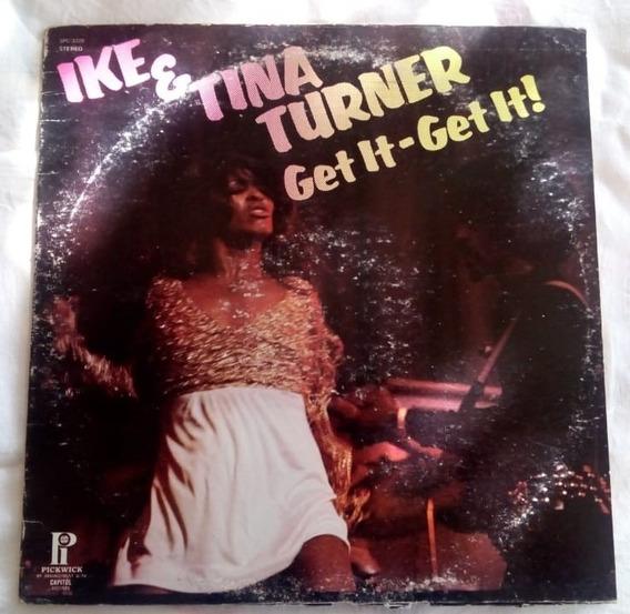 Rock Inter, Ike & Tina Turner, Lp 12´, Hecho En U. S. A.