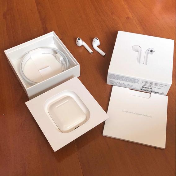 Fone De Ouvido Apple AirPods Com Caixa Para Carregamento