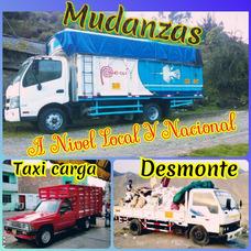Eliminacion Desmonte Barato , Mudanzas , Taxi Carga Seguro