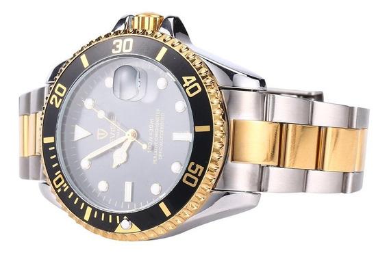 Tevise T801 Hombres Reloj Mecánico Automático Luminoso Reloj