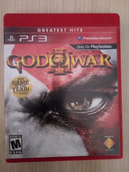 God Of War Iii Ps3 Mídia Física Pronta Entrega Usado