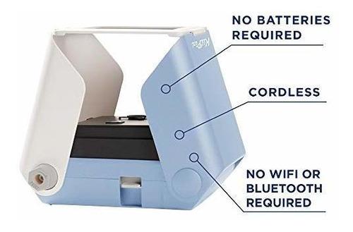 Kiipix Impresora De Fotos Para Smartphone Azul Importamatica