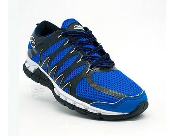 Tênis Feminino Olympikus Style Azul E Preto