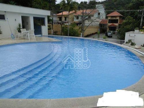 Apartamento Com 2 Dormitórios À Venda, 70 M² - Maceió - Niterói/rj - Ap0104