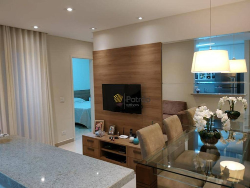 Apartamento Com 2 Dormitórios À Venda, 53 M² Por R$ 360.000,00 - Santa Terezinha - São Bernardo Do Campo/sp - Ap3245