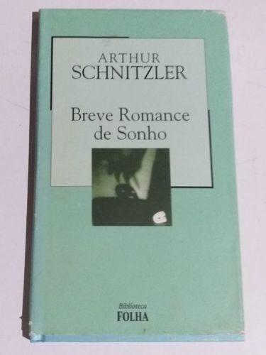 Livro Breve Romance De Sonho Arthur Schnitzler