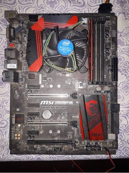Board Msi Gaming Intel Z170a + Dual Core G4400 + 8gb Ram