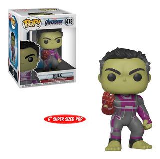 Funko Pop Avengers Endgame 6 Grande Hulk Gauntelete #478