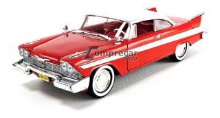 Miniatura Plymouth Fury Christine 1958 Greenlight 1/24