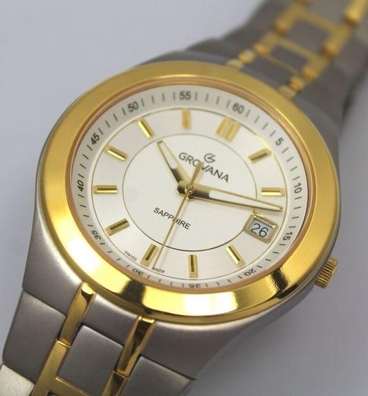 Relógio Suíço Grovana Titanium - Masculino