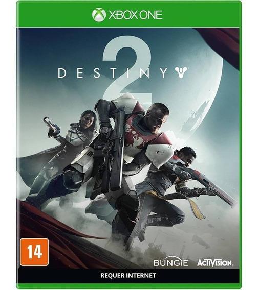 Destiny 2 Xbox One Mídia Física Lacrado Em Português