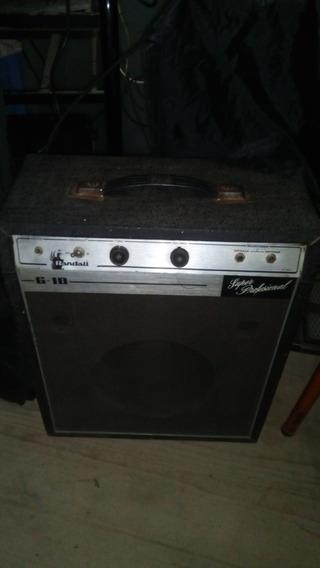 Amplificador Valvular 10w Randall G10 Profesional 1x10