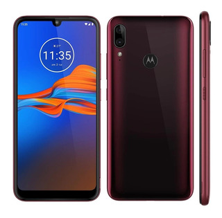 Celular Motorola Moto E6 Plus Xt2025 Dual 4g 6.1 64gb Rubi