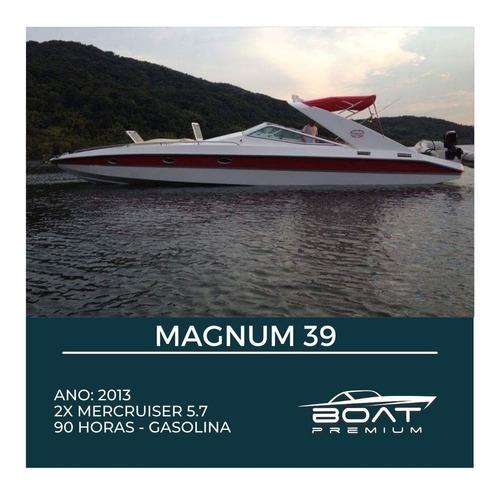 Magnum 39, 2013, 2x Mercruiser 5.7, - Phantom - Focker -real