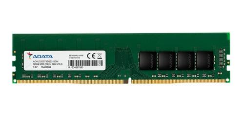 Imagem 1 de 3 de Memoria Adata 32gb Ddr4 3200mhz 1.2v Ad4u320032g22-sgn