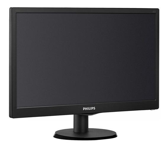 Monitor Led Pc 19 Pulgadas Philips Hdmi Vga Hd Cuotas