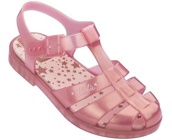 Sandália Infantil Barbie Glitz 22111 - Grendene Kids