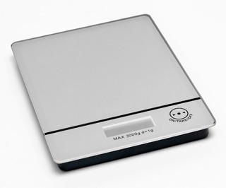Balanza De Cocina Electronica 3 Kg Con Función Tara - Blanco