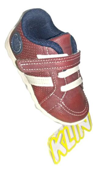 Tênis Klin Infantil Cravinho Casual Vermelho 166.049000-001