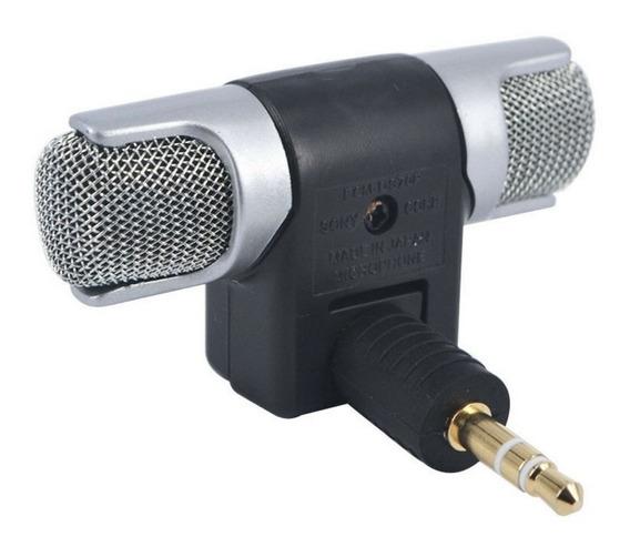 Microfone Mini Para Notebook E Câmera Digital P2