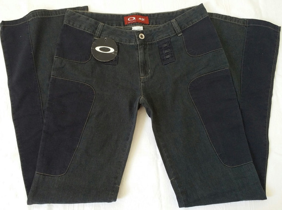 Calça Jeans Feminina Flare Oakley N 42