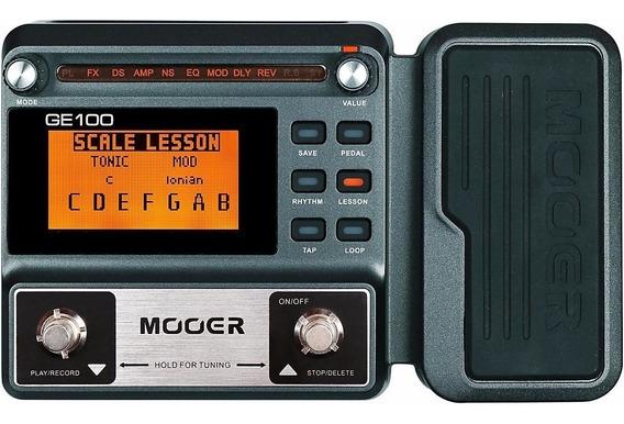 Pedaleira Multi-efeitos Mooer Ge100 Ge 100 Garant Envio 24h