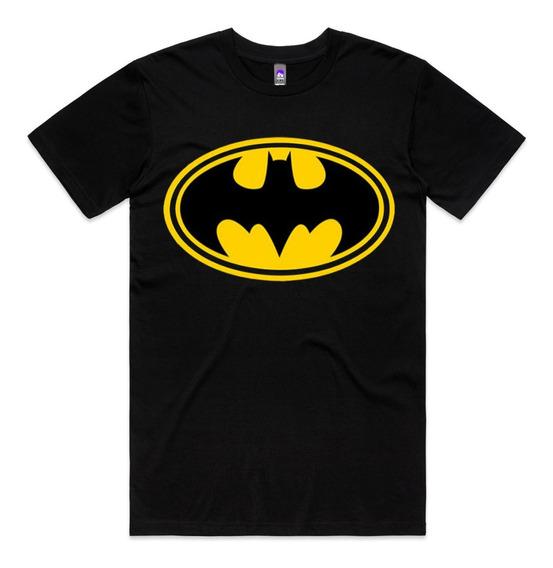 Camiseta Batman Feminina Masculina Logo Personalizada Oferta