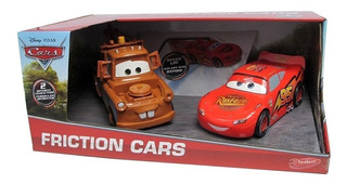 Cars X2 Rayo Mc Queen Grúa Mate Friction Original Disney