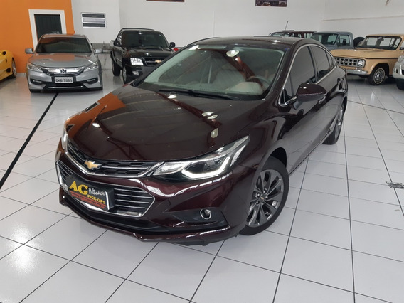 Gm Chevrolet Cruze Sedan Ltz Ii 2018 Vinho 1.4 Turbo Aut 25k