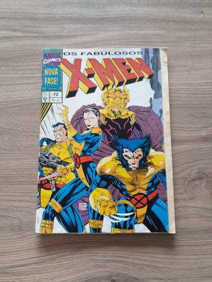X-men 72 Em Formatinho - Editora Abril