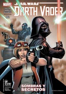 Star Wars: Darth Vader #2 Sombras Y Secretos - Marvel Comics