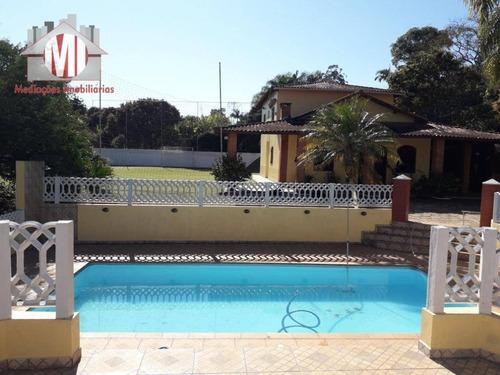 Chácara Maravilhosa Em Condomínio Com Escritura, 03 Dormitórios À Venda, 4000 M² Por R$ 650.000 - Socorro/sp - Ch0505