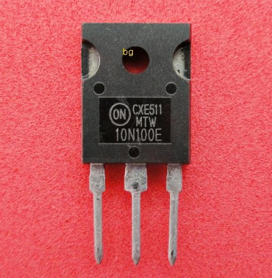 Transistor 10n100e Mtw10n100e Original