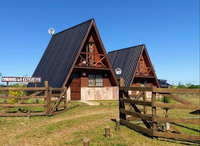 Cabañas En Colón (entre Rios), 4/5 Personas, Ideal Descanso