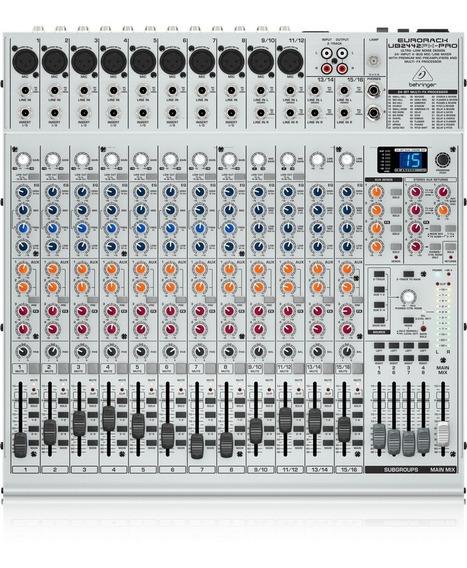Mixer Eurorack Ub 2442 Fx-pro