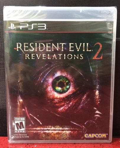 Resident Evil Revelations 2 Ps3 Fisico Sellado Original Ade