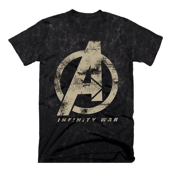 Playera Oficial Avengers Infinity War Tie Dye Para Hombre