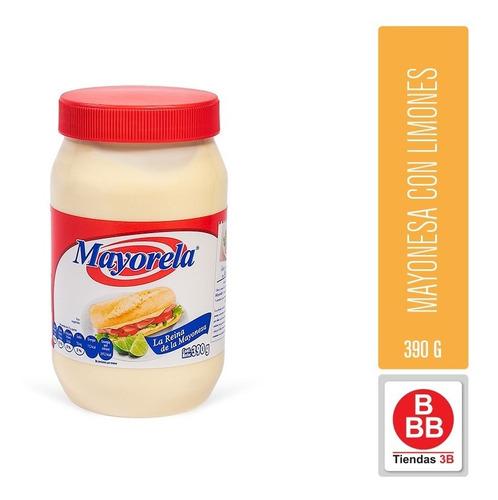 Mayonesa Con Limones Mayorela 390 G
