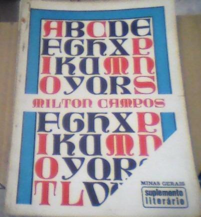 Suplemento Literário -minas Gerais -milton Campos-22-01- 72