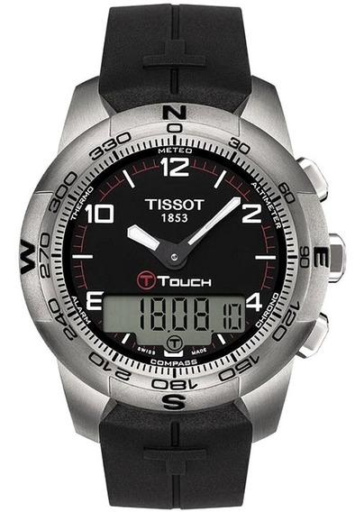 Relogio Tissot T-touch Ii Titanium T047.420.47.057.00 Origin