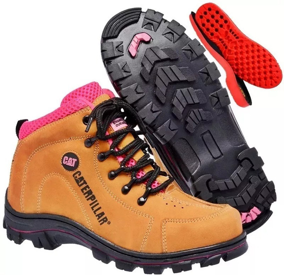 Botita Caterpillar Feminino Adventure Linda