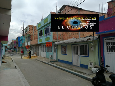 Casa Lote En Venta Bosa San Antonio 6x12 M2