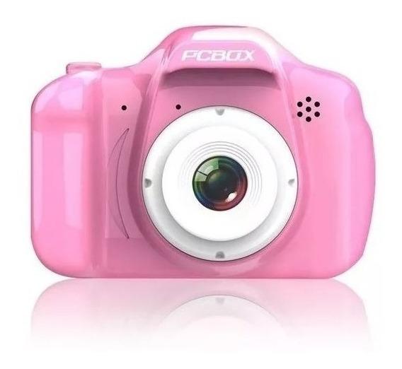 Camara De Fotos Pcbox Click Rosa (pcb-kcr)