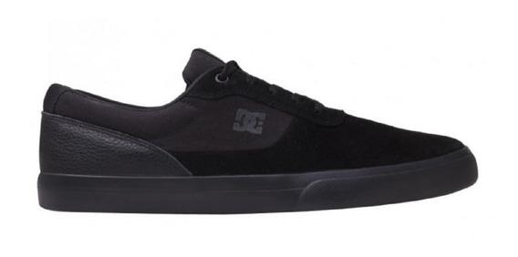Tênis Dc Shoes Visalia La Importado Original Preto Total