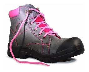 Bota Iron Wings° 508l Casquillo Calzado Industrial Para Dama
