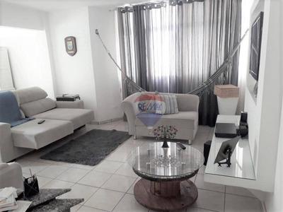 Apartamento Com 3 Dormitórios Para Alugar, 160 M² Por R$ 2.400/mês - Boa Viagem - Recife/pe - Ap0782