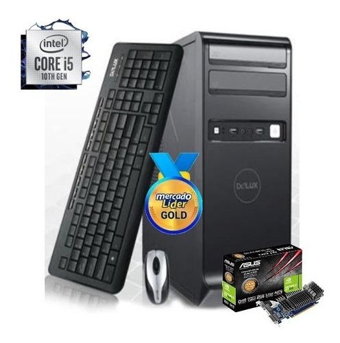 Imagen 1 de 6 de Cpu Intel Core I5 10ma Gen/1tb 8gb Gt-610 2gb I3/i7  Inc Iva