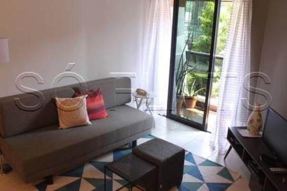 Flat No Itaim, Ótima Localização, A Venda Próximo A Shopping E Restaurantes - Golden Tower - Sf25341