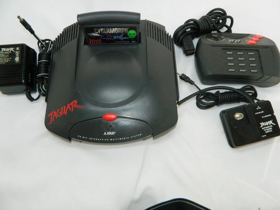 Atari Jaguar - Cabo Controle Jogo - Tudo Original