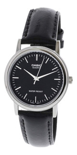 Reloj Casio Hombre Malla De Cuero Mtp-1095e Impacto Online